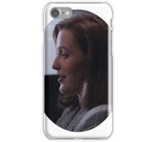 pilot scully pt. 2 iPhone Case/Skin
