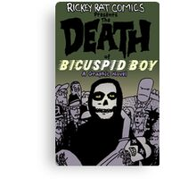 The Death of Bicuspid Boy - 25th Anniversary Edition Canvas Print