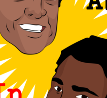 Troy & Abed In The Morning! Sticker