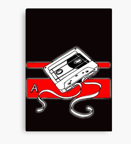 Tape A Canvas Print
