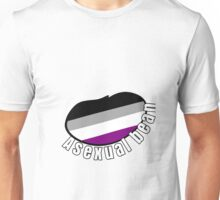 """ASEXUAL BEAN"" lgbt+ pride beans Unisex T-Shirt"