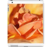 Peach Rose Petals iPad Case/Skin