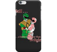 Twilight Rangers Green Ver. iPhone Case/Skin