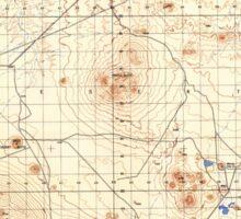 USGS TOPO Map California CA Castle Butte 296647 1947 50000 geo Sticker