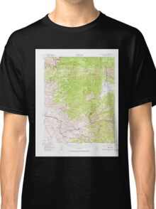 USGS TOPO Map California CA Breckenridge Mtn 296908 1943 62500 geo Classic T-Shirt