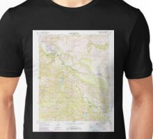 USGS TOPO Map California CA Carmel Valley 288958 1956 24000 geo Unisex T-Shirt
