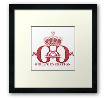 SNSD - Logo Framed Print