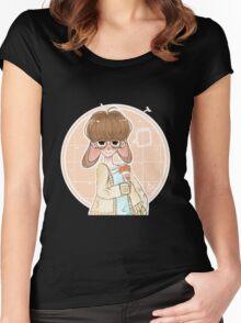 Rabbit Boy Women's Fitted Scoop T-Shirt