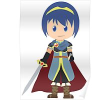 Chibi Marth Vector Poster