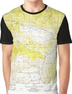 USGS TOPO Map California CA Cuddy Valley 296032 1944 31680 geo Graphic T-Shirt
