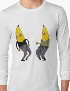 bananas in regular clothing Long Sleeve T-Shirt