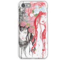 Snow White and Rose Red iPhone Case/Skin