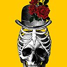 Skull with rib cage hat by monsterplanet