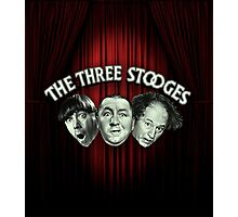 The Three Stooges Photographic Print
