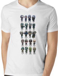 Rainbow Six Siege Chibis Mens V-Neck T-Shirt