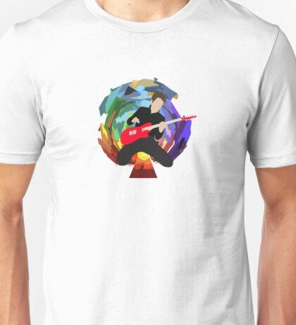 Matt Bellamy of Muse (smaller) Unisex T-Shirt