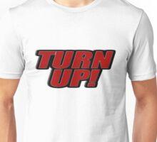 Turn up! Logo - Red Unisex T-Shirt