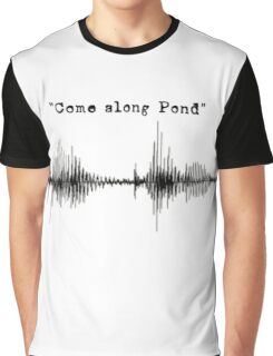 Doctor Who - Come Along Pond Graphic T-Shirt
