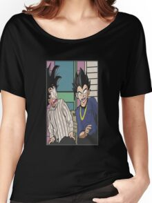 dbz friday mashup funny Women's Relaxed Fit T-Shirt