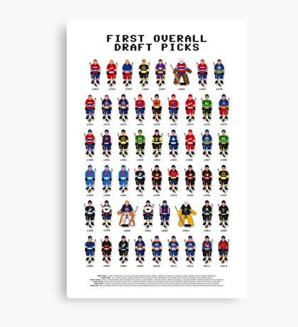 16-Bit Draft Picks Canvas Print
