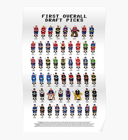 16-Bit Draft Picks Poster