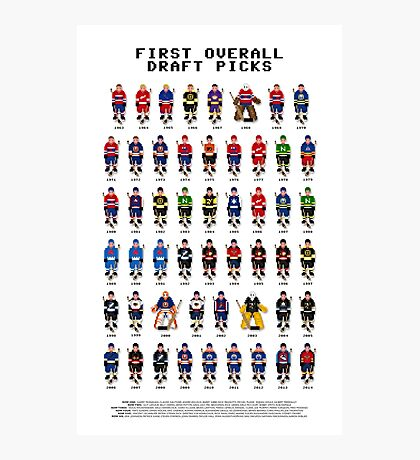 16-Bit Draft Picks Photographic Print
