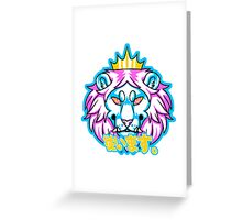 Obey the King Greeting Card