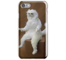 Persian Cat Meme iPhone Case/Skin