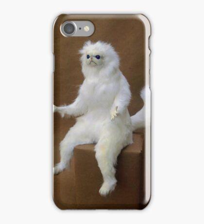 Persian Cat Meme iPhone Case/Skin