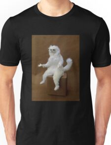 Persian Cat Meme Unisex T-Shirt