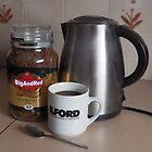 Ilford and Espresso by BigAndRed