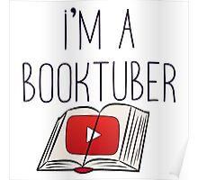 I'm a booktuber Poster