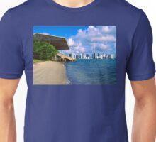 Postcard View of Miami Unisex T-Shirt