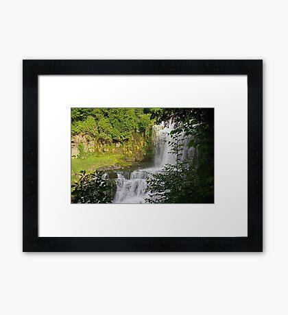 Chittenango Waterfall Framed Print