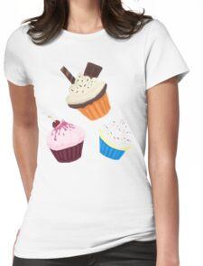 Cupcake Fan Womens Fitted T-Shirt