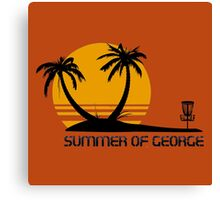 Summer of George Canvas Print