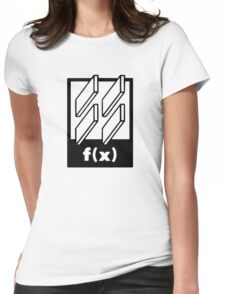 f(x) - 4 Walls - Logo Womens Fitted T-Shirt