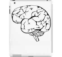 Thinking in black and white iPad Case/Skin