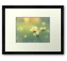 OLIVE JUICE Framed Print