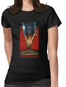 Ash The king Womens Fitted T-Shirt