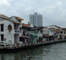Around the Bend    Malacca Malaysia by Sandra  Sengstock-Miller
