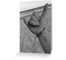 Hang Loose on the Shore Greeting Card