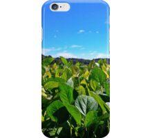 Blue Skies Green Fields iPhone Case/Skin
