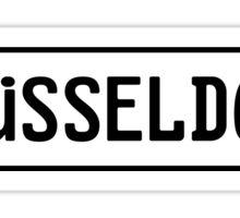 Düsseldorf Kennzeichen Sticker
