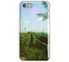 Dune Path at Dania Beach iPhone Case/Skin