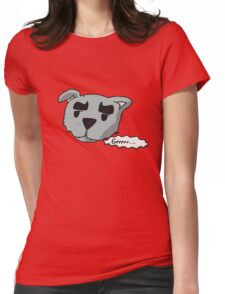 Koopy the Angry Dog Womens Fitted T-Shirt