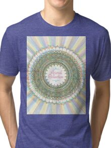 Trippy Animal Collective #2 Tri-blend T-Shirt