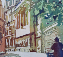 Brasenose Lane Sticker