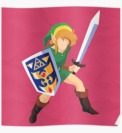 Link (Simplistic) Poster