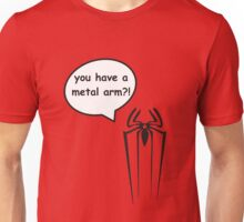 Spider-Man and Winter Soldier T-Shirt Unisex T-Shirt